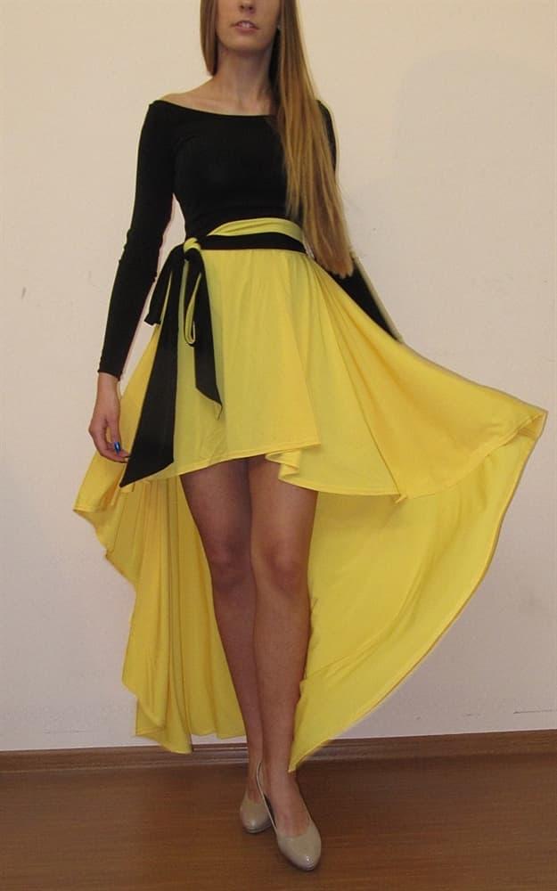 Желтое Платье С Доставкой