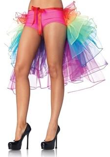 Разноцветная юбка-хвост на ленте