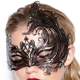 Металлическая резная маска 2485