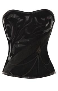 Темно-коричневый корсет  Steampunk