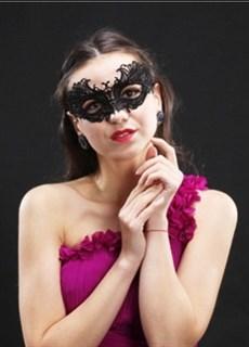 Кружевная маска 2486