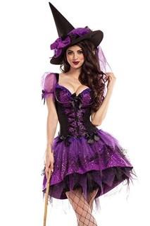 Ведьмочка с фиолетовой юбкой