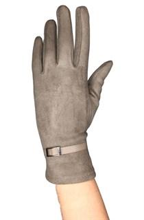 бежевые сенсорные короткие перчатки фото