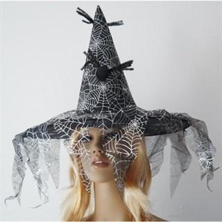 Шляпа для костюма ведьмы. Черная