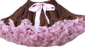 Пышная юбка Frills&Frocks шоколадного цвета