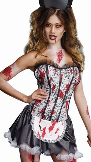Костюм горничной зомби - фото 12045