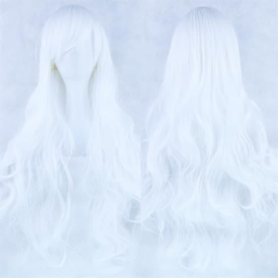 Парик платиновый блонд. 80см - фото 14913
