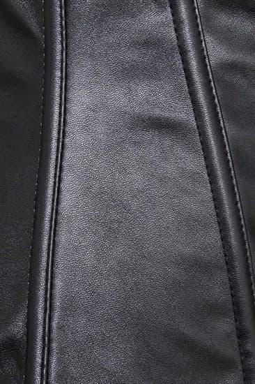 Корсет под грудь на молнии с ремешками. Экокожа - фото 16972