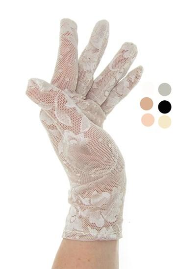 2790. Короткие перчатки. Гипюр