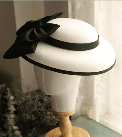 4157. Белая шляпка Пэрис - фото 22070