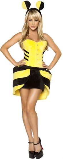 Костюм плюшевой пчелки - фото 6097