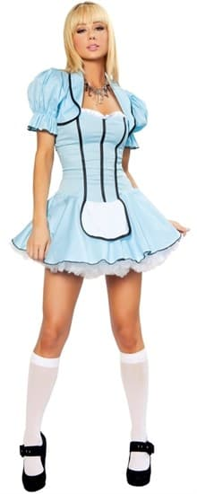 Маскарадный костюм Алисы  в Зазеркалье. Платье и болеро - фото 6998