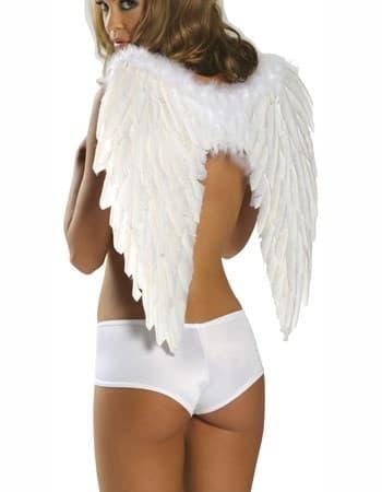 Крылья ангела белые - фото 7932
