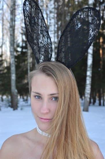 Кружевные ушки без маски - фото 8110