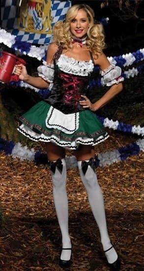 Костюм баварской девушки - фото 8258