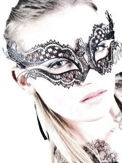 Металлическая резная маска 2483