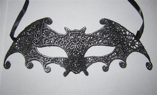 Ажурная маска с серебристым напылением 2592