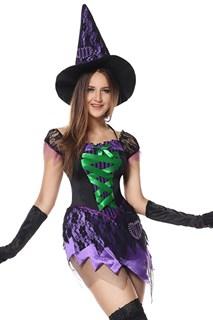 Фиолетовое платье маленькой ведьмы - фото 13671