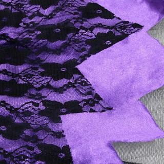 Фиолетовое платье маленькой ведьмы - фото 13676