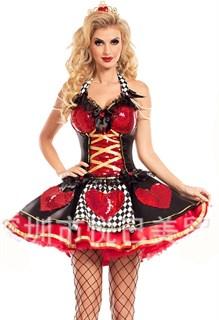 Маскарадный костюм королевы ПВХ