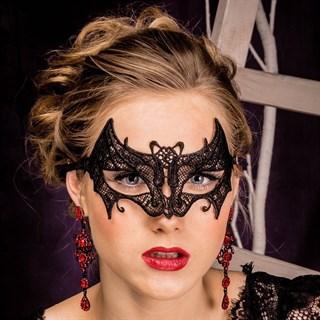 Кружевная маска летуей мышки - фото 14024