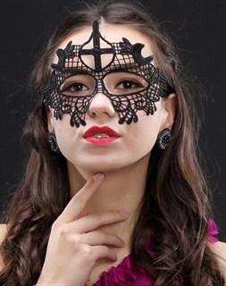 кружевная маска монахиня фото