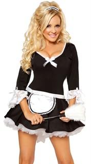 костюм горничной с рукавами фото