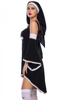 Платье монахини с рукавами - фото 14565