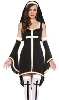 Платье монахини с рукавами