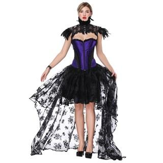 Ассиметричная юбка в пол с напылением. Черная - фото 14755