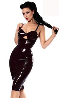 Лаковое платье