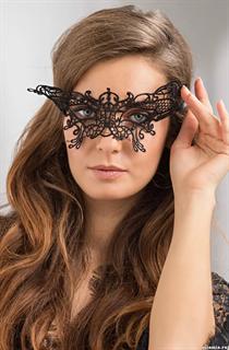 Кружевная маска на глаза Королевская бабочка