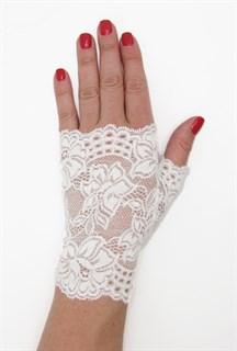 Кружевные перчатки без пальцев. 3286