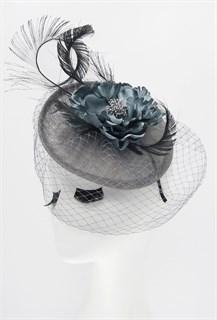 Шляпка с вуалью Стелла