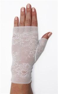 Кружевные перчатки без пальцев. 3320