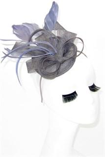 Маленька шляпка таблетка Тринити. Серый цвет