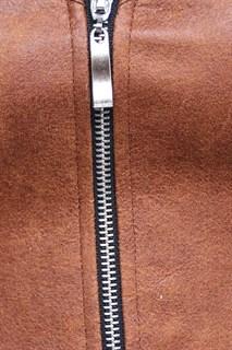 Светло-коричневый корсет потёртая кожа - фото 16980