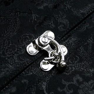 Черный корсет под грудь с болеро - фото 17088