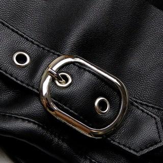 Черный корсет под грудь с болеро - фото 17089