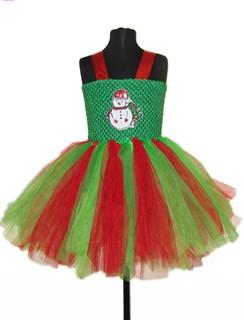 Пышное платье Зеленая снежинка