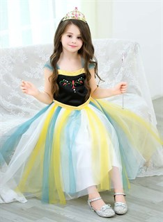 Платье для коронации принцессы Анны для девочки