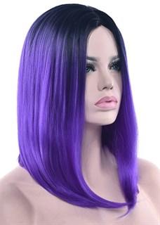 Парик каре амбре фиолетовый