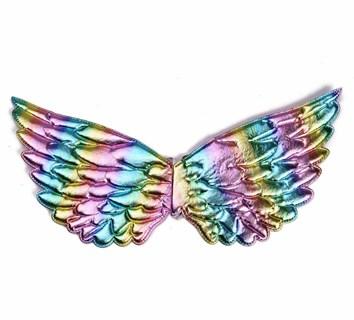 Крылья единорога разноцветные