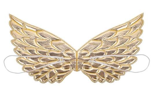 Крылья единорога золотые