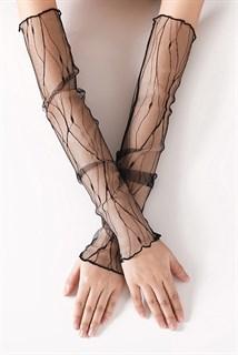 Прозрачные рукава с волной