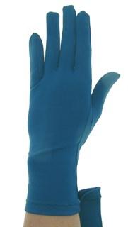 Летние перчатки трикотаж масло. Темно-синий припылённый