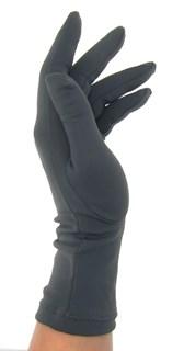 Летние перчатки трикотаж масло. Темно-серый