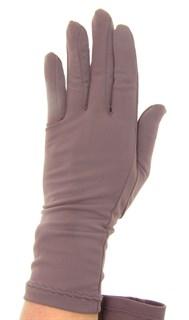 Летние перчатки трикотаж масло. Мокко