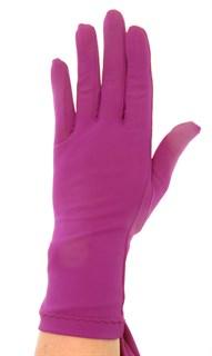 Летние перчатки трикотаж масло. Сливовый