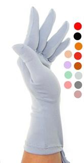 Трикотажные тонкие перчатки. Разные цвета